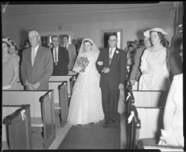 Photograph of Mr. & Mrs. Grice's wedding