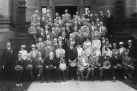 Photograph of delegates at the fifth annual Telephone Association of Canada convention in Halifax, Nova Scotia