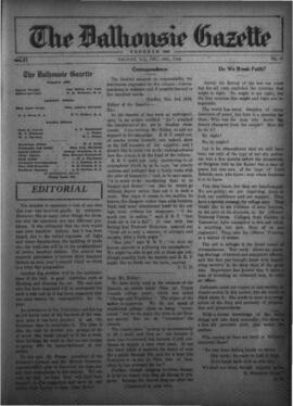 The Dalhousie Gazette, Volume 56, Issue 19