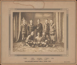 Photograph of Dalhousie Basket Ball Team, 1921