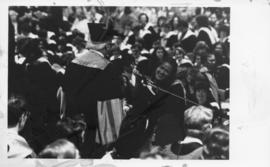 Photograph of a Dalhousie University convocation ceremony
