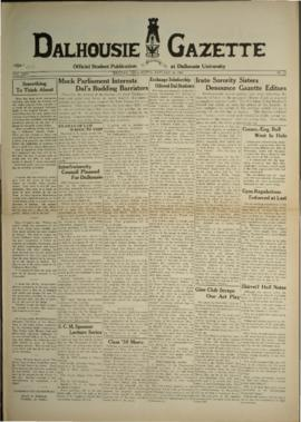 Dalhousie Gazette, Volume 67, Issue 13