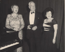 Maxwell Cohen, Fannie Hurst, Ellen Ballon, and Morton Gould : [photograph]