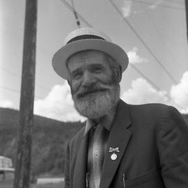 Photograph of Black Mike in Dawson City, Yukon