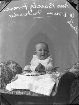Photograph of baby of Mrs. Barcley Fraser