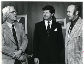 Photograph of Lloyd MacPherson, George R. Beaton, and M.R. Clark