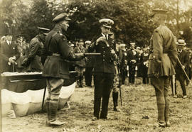 HRH Prince Edward VIII presentation of a medal