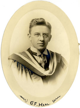 Portrait of James Gordon Freeman Heal : Class of 1915