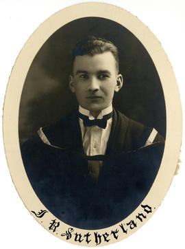 Portrait of Ira Reginald Sutherland : Class of 1925
