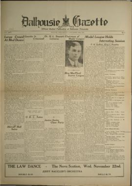 Dalhousie Gazette, Volume 66, Issue 8