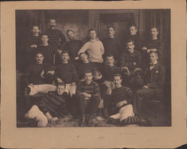 Photograph of First Dalhousie Football Team - 1895