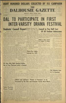 The Dalhousie Gazette, Volume 82, Issue 30