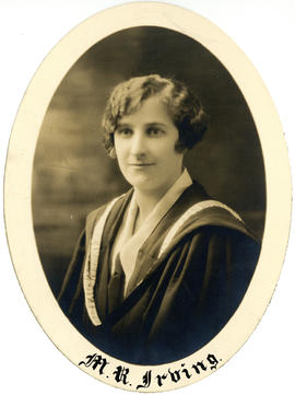 Portrait of Marion Robertson Irving : Class of 1927