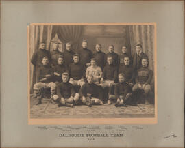 Photograph of Dalhousie Football Team - 1916