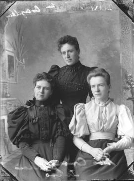 Photograph of Mrs. Crayden and her friends