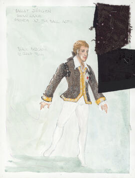 Costume for the Prince at the Ball : Act 2
