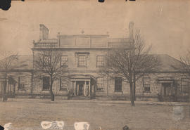 Photograph of the original Dalhousie College Building