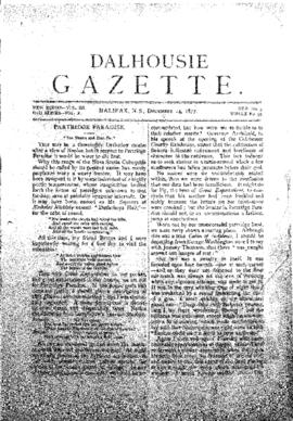 Dalhousie Gazette, Volume 10, Issue 3