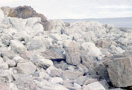 Photograph of rocks in Cape Dorset, Northwest Territories