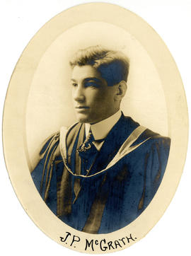 Portrait of Joseph Percy McGrath : Class of 1917