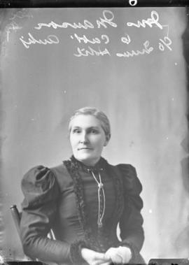 Photograph of Mrs. Manson