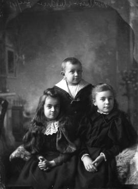 Photograph of Mrs. Matheson's children