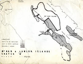 "McNab & Lawlor Islands : Sketch ""B"" : [map]"