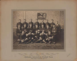 Photograph of the 1926-1927 intermediate football team