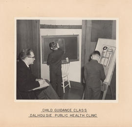 Photograph of Outpatient and Public Health Clinic, child guidance class