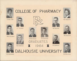 Collage of College of Pharmacy Graduates of 1964