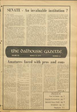 The Dalhousie Gazette, Volume 106, Issue 23