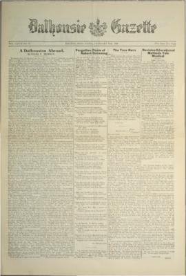 Dalhousie Gazette, Volume 58, Issue 13