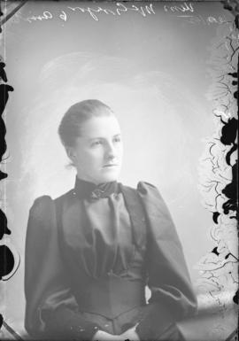 Photograph of Miss McGregor