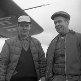 Photograph of Luke Dumas and Jacques Dumas in Fort Chimo, Quebec