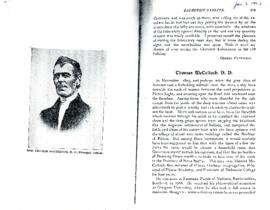McCulloch, Thomas - Obituary