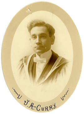Portrait of J.A. Curry : Class of 1916