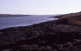 Photograph of coastline of Brier Island, Nova Scotia