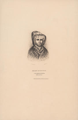 Engraving of portrait of Helen McDougal : [1829]
