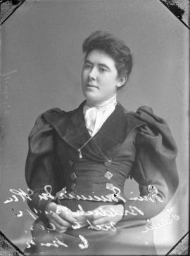 Photograph of Minnie McRea