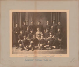 Photograph of Dalhousie Football Team, 1899
