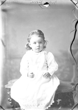 Photograph of John Horn's daughter