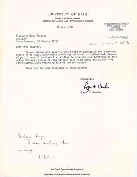Correspondence with Harry N. Abrams Incorporated