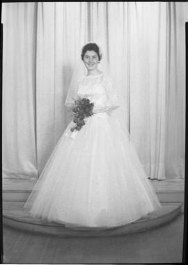Photograph of Mrs. Aiken on her wedding day
