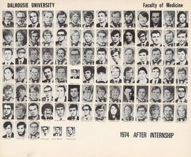 Faculty of Medicine - Class of 1974 After Internship