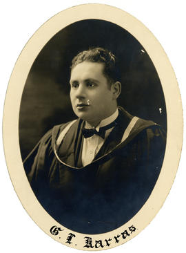Portrait of George Lycurgus Karras : Class of 1926