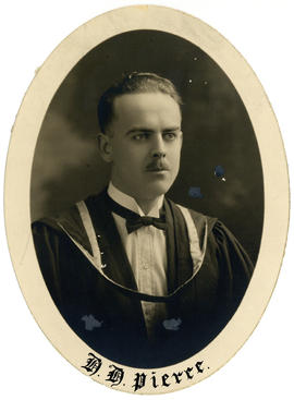 Portrait of H.H. Pierre : Class of 1926