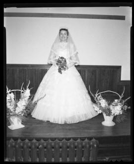 Photograph of Mrs. Leil at her wedding