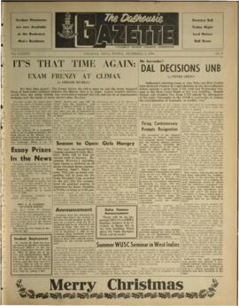 The Dalhousie Gazette, Volume 91, Issue 9