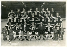 Photograph of the Dalhousie Hockey Team