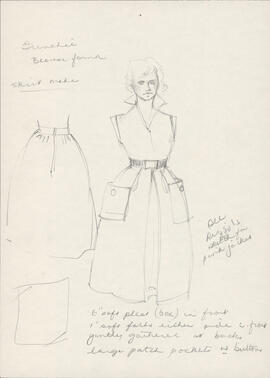 Costume design for Frenchie